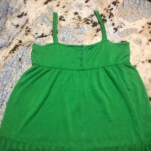 Beautiful green Old Navy with tags tank top